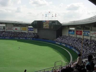千葉マリンスタジアム景色