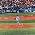 開幕ローテーションを狙う、先発の高崎健太郎投手
