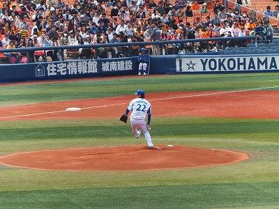 横浜DeNA:高崎健太郎投手