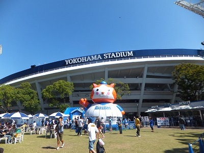 JR関内駅から横浜スタジアムへの行き方