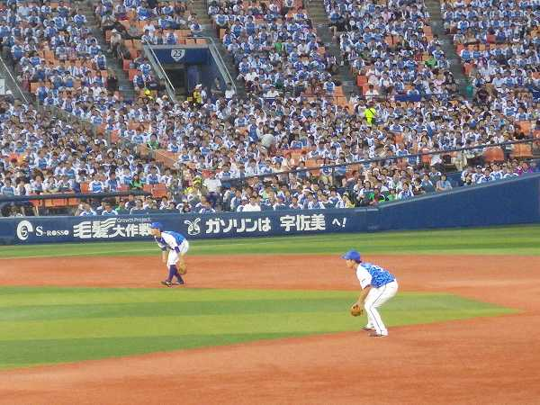 横浜DeNA二遊間ルーキーコンビ:山下幸&倉本