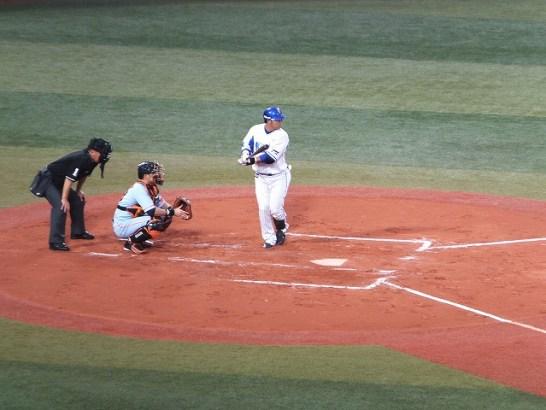 宮崎選手:パンチ力のあるプニキ