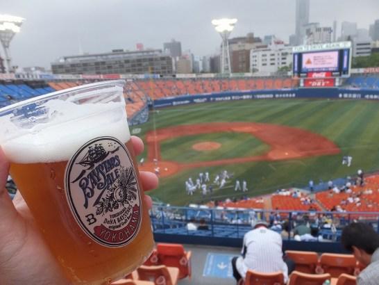 ビール半額デー:横浜スタジアム