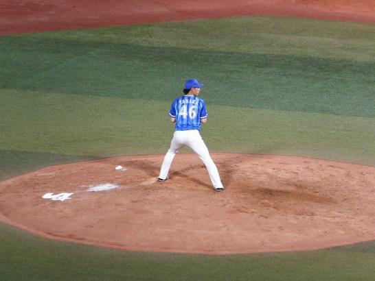 横浜DeNA:リリーフ田中健二朗投手