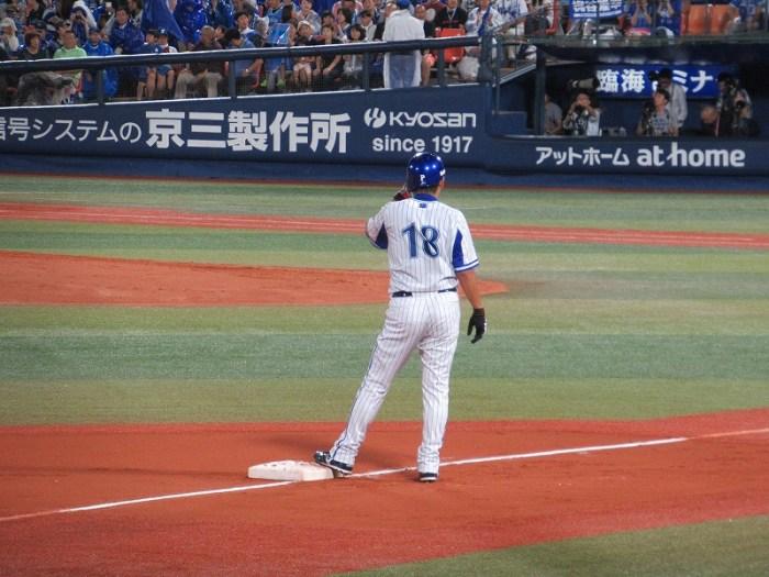 3塁までの激走!三浦大輔:ハマの番長引退試合