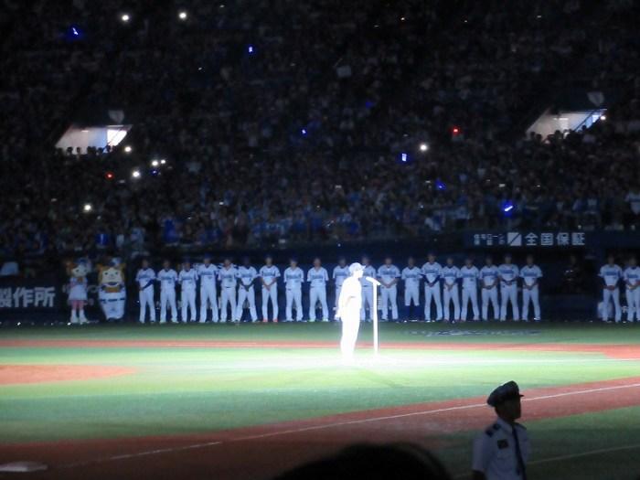 三浦大輔:ハマの番長引退試合:セレモニー