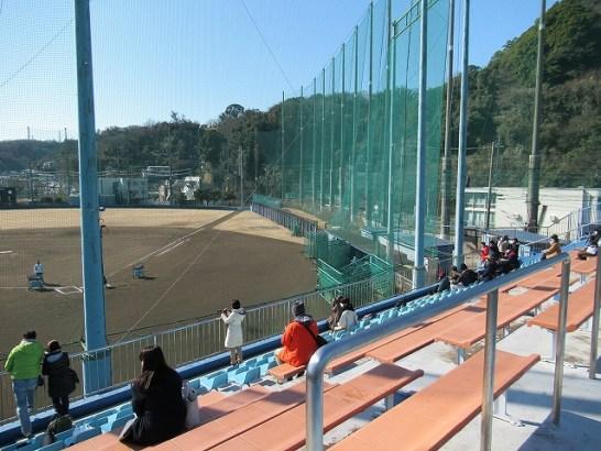 長浦練習場のお客さんの数