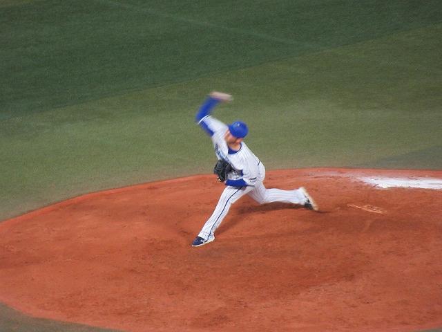 横浜DeNA抑えの山崎康晃投手