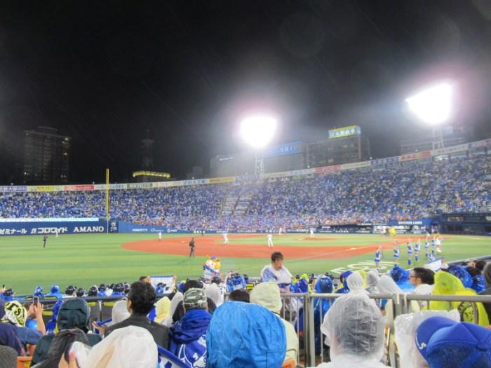 横浜スタジアム内野FB席3塁側からの景色:眺め