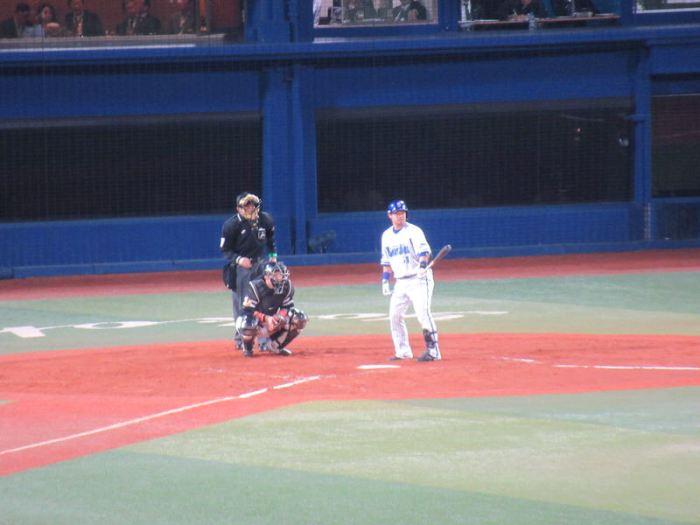 日本シリーズ第3戦の宮崎選手:横浜DeNAベイスターズ