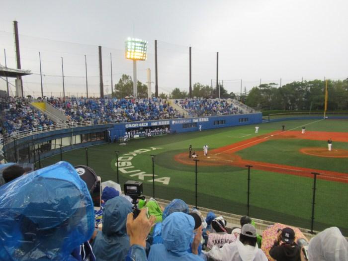 代打後藤武敏と応援するファン:横須賀スタジアム最終戦2018