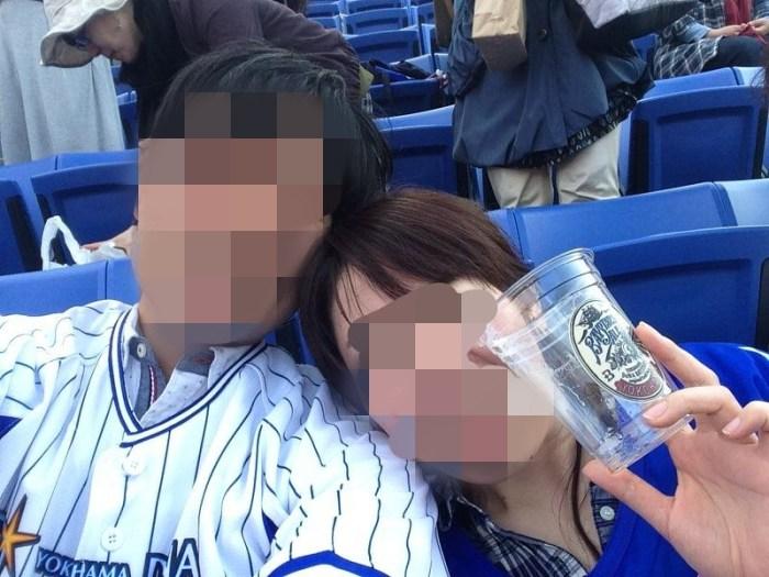 ペアーズで出会った女の子と野球観戦デート2