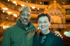 Alonzo King and Samuel Wuersten, photo by Franck Thibault