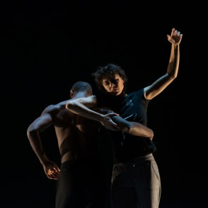 Babatunji and Kara Wilkes, photo by Franck Thibault