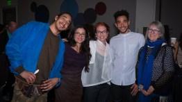 Shuaib Elhassan, Maria Caprio, Julie Armistead and Michael Montgomery