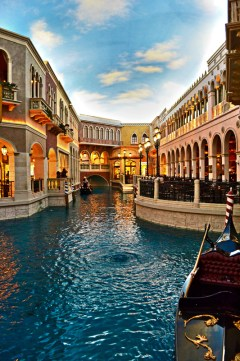 The Grand Canal Shoppes in The Venetian