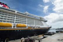 Disney Fantasy docked at Cape Canaveral