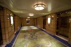 Disney Fantasy elevator lobby