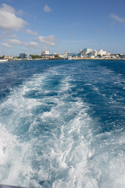 Tendering from Grand Cayman