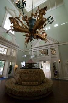 The Boardwalk Villa's lobby