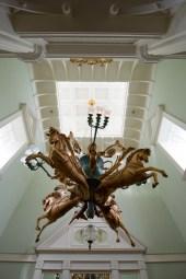 The Boardwalk Villa's chandelier