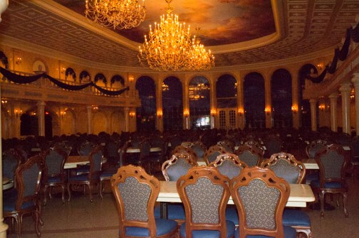The Beast's Castle main dining room