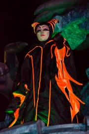 Maleficent in the Boo To You parade