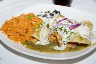 Enchiladas Verdes con Pollo from the San Angel Inn
