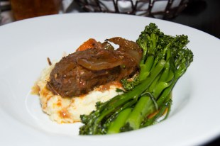 Braised Short Ribs from Cat Cora's Kouzzina at The Boardwalk