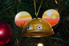 C3P0 Mickey head ornament