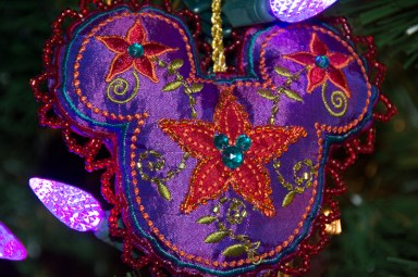 Himalayan Mickey head ornament