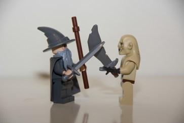 Gandalf the Gray & Azog