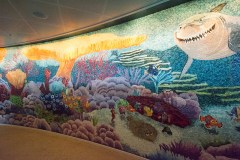 Cabanas tiled wall murial