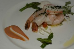 Iced Lobster and Jumbo Shrimp