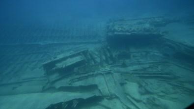 Callie shipwreck