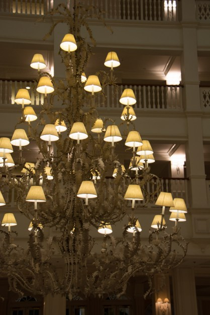 Grand Floridian Lobby Chandelier
