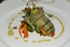 Cucumber garden roll