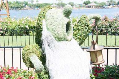 Sleepy topiary