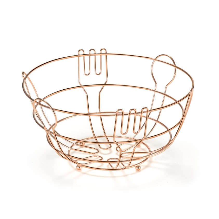 FRUTEIRA DE MESA  QUERIDA ROSE GOLD