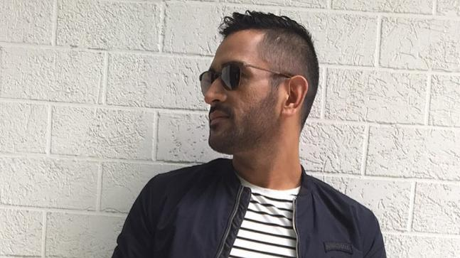 MS Dhoni Opts For Retro Look As He Rocks The V Hawk