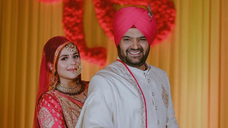 Kapil Sharma Mumbai Reception Heres What The Newlyweds