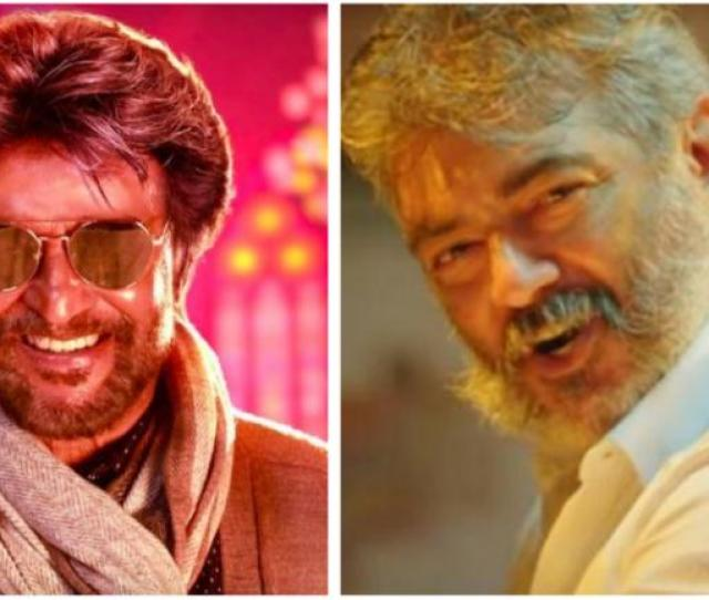 Petta Rajinikanth And Viswasa Ajith