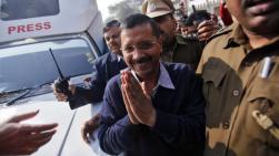 Arvind Kejriwal in Delhi during the 2015 elections. (Image: Reuters)