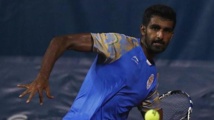 Prajnesh Gunneswaran broke into the top-100 of men's singles in ATP rankings for the first time (Reuters Photo)