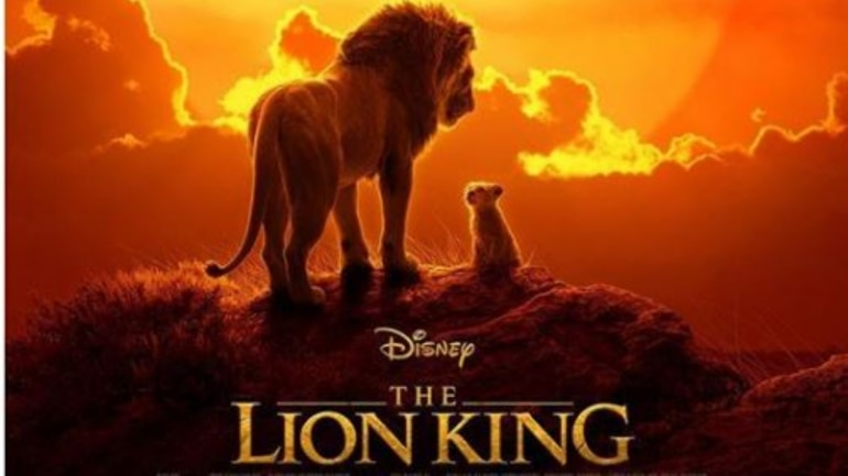 The Lion King will be released on July 19