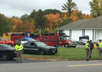 Gunman opens fire at New Hampshire church wedding ceremony, 2 people shot