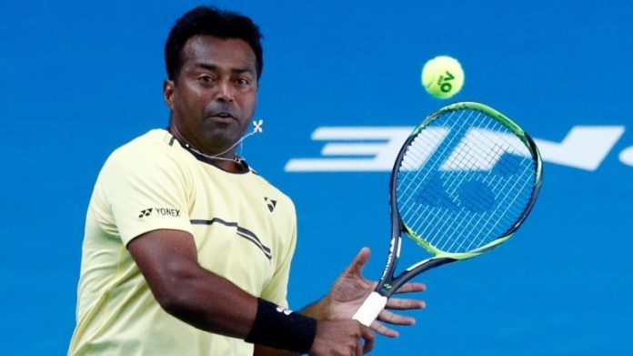 Leander Paes made a winning start to his last Australian Open campaign