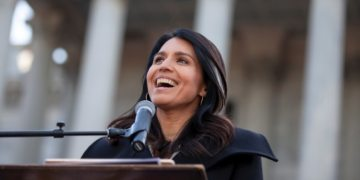 Democratic White House contender Tulsi Gabbard sues Hillary Clinton for 'Russian asset' comment