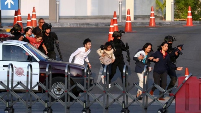 Thailand: Rogue soldier who killed 20 shot dead in shopping mall siege