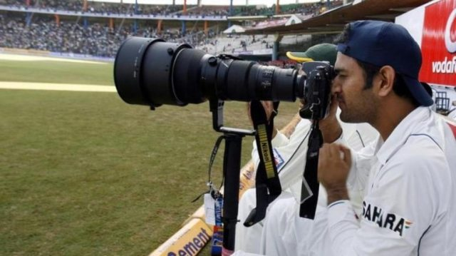 MS Dhoni shared a photo of a tiger he clicked on social media (Reuters Photo)